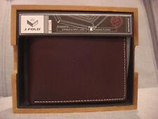 J. FOLD ROADSTER HAVANA SLIMFOLD WALLET MOKA CAMO N57399/190 - BRAND NEW - NWT