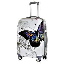 Motiv Koffer Trolley Bowatex Printkoffer Schmetterling Butterfly XL 77 cm Groß