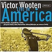 Victor Wooten - Live In America [CD] New and Sealed