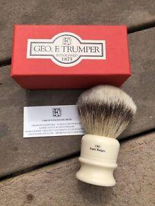 Geo. F. Trumper Super Badger Shaving Brush CB3 Super