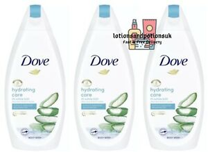 Dove HYDRATING CARE Body Wash 450ml - 3 Pack