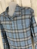 Swiss Tech Long Sleeve Snap Button Up Shirt Mens Size 2XL XXL [A-1295]