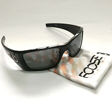 Oakley Sunglasses * Fuel Cell 9096-66 Foose Polished Black Black Iridium