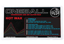 750g One Ball Jay 4WD Wax Cold Snowboard Wax | Bulk
