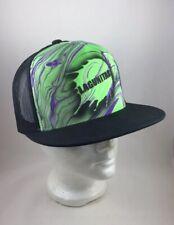 NEW Lagunitas Dom Chi Swirl Hat Green/Black Snapback Trucker Hat Breweriana