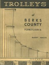 Trolleys of Berks County Pennsylvania Book Vintage Streetcar Railway