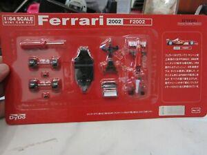 DYDO x Ferrari - Scale 1/64 - Ferrari 2002 F2002 - Mini Car KIT F1 no.12 - A8