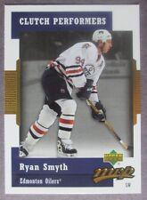 2007-08 Upper Deck MVP Clutch Performers #CP14 Ryan Smyth Edmonton Oilers