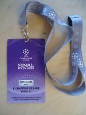 TICKET UEFA Club & Keyholder UEFA CL Finale 2018 Real Madrid - FC Liverpool