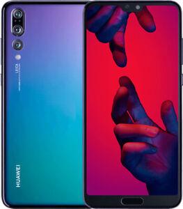Huawei p20 pro (CLT-L09)  twilight- unlocked-6gb ram-128gb- single sim