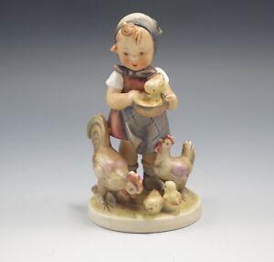 """HUMMEL Goebel 199/0 FEEDING TIME  5,5"""" figurine 1950 TMK 2 FULL BEE"""