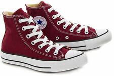 Converse All Star Chuck Taylor Burgundy Hi Top Canvas 139784F Free Shipping