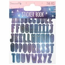 Dovecraft Planner Accessory Time To Shine Everyday Sticker Book | 246 Pieces