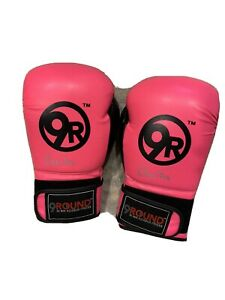 9 Round Womens Boxing Gloves Great Condition