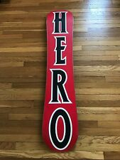 Burton Men's Super Hero Snowboard 151cm RARE BRAND NEW!