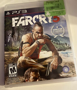 Far Cry 3 PLAYSTATION 3 (PS3) COMPLETE FREE SHIP