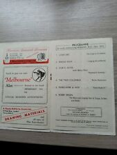 More details for variety theatre programme 1950,leeds empire, morecambe and wise,