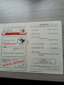 VARIETY THEATRE PROGRAMME 1950,LEEDS EMPIRE, MORECAMBE AND WISE,