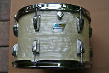 "1970's Ludwig USA 13"" CLASSIC WHITE MARINE PEARL TOM for YOUR DRUM SET! #D93"