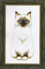 Cross Stitch Kit Siamois Chat Art. BT-109