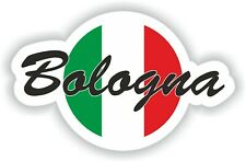 Bologna Italy Italia Flag Sticker Decal for Car Truck Laptop Tablet Fridge