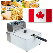5.5L Electric Countertop Deep Fryer Commercial Basket Electric French Fry 2500W