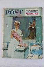 The Saturday Evening POST ~ March 11, 1961, Satchel Paige, Cant live in New York