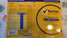 Norton Security Deluxe 5 Devices 1 Year (Email Key Code ESD License)