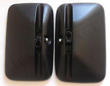 """2 x 12"""" Universal Mirrors Rear View Truck Bus Lorry Van Left Right Side E6 NEW"""