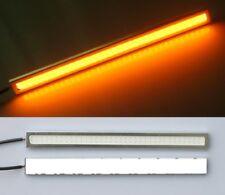 Daylight Running Light LED Side Lights Indicator Turn Signal Orange Amber 17cm