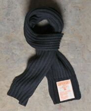 BRAND NEW SUPERDRY SUPERCABLE MANDARIN REGIMENT KIT NAVY KNIT SCARF