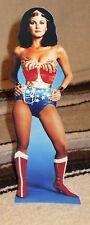 "Wonder Woman ""Lynda Carter"" Color Figure Tabletop Display Standee 10.5"" Tall"