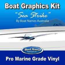 Boat Graphics Kit - Sea Strike