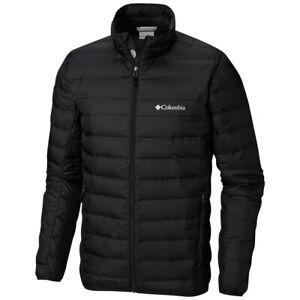 New Mens Columbia Lake 22 Heat Seal Packable 650-Fill Down Jacket Coat