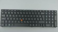 HP EliteBook 8460p Keyboard sps652553 ba1 svk layout a-Ware