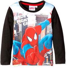 T-shirts, débardeurs et chemises noirs Marvel pour garçon de 2 à 16 ans