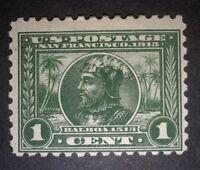 TRAVELSTAMPS: 1913 US Stamps Scott #397, Balboa, mint, hinged, og, 1¢ see scans