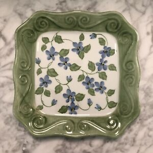 ANDREA BY SADEK HAND PAINTED PLATE