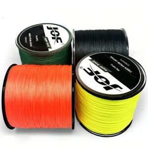 Fishing Line 300-500m PE Braided Wire 8/4 Strands Multifilament Japanese 7Colors