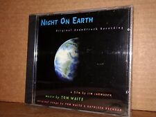NIGHT ON EARTH  Music By TOM WAITS Colonna Sonora CD NUOVO SIGILLATO!!