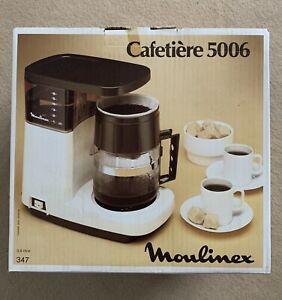 Vintage / Retro Moulinex Coffee Machine 5006 With Original Packaging - New