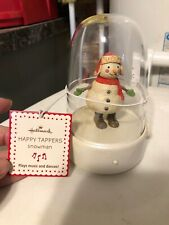2008 1st issue Hallmark Happy Tappers Tapper Snowman