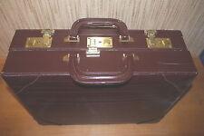 Doppelkoffer, Lederkoffer, Koffer, Aktenkoffer echt Leder,Aktentasche