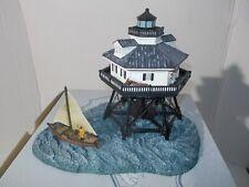 Harbour Lights Lighthouse Middle Bay Alabama #187 Coa 1996