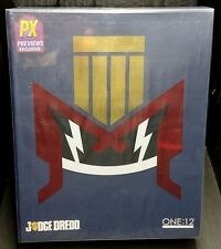 "ONE:12 Collective JUDGE DREDD 6"" Mezco Figure New! PX Previews Exclusive Rare!"