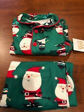 Just One You Carter's Christmas, Flannel 18M Two piece PJs, Santa, Reindeer