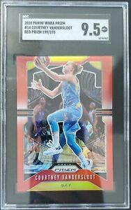 2020 Panini Prizm WNBA Courtney Vandersloot Red /275 SGC 9.5 Mint+ Chicago Sky