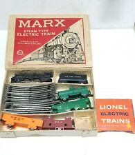 Vintage Marx Steam Type Electric Train with Cardboard Box