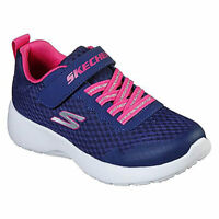 Skechers Slip on Girls Shoes in Blue/Pink in 7 Sizes**FREE DELIVERY**