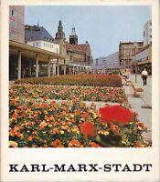@@ seltener Bildband Karl-Marx-Stadt (Chemnitz) 1. geringe Auflage mit OSU